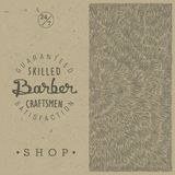 Rétro calibre pour Barber Shop Photos stock
