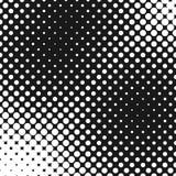 Rétro calibre tramé abstrait de fond de modèle de point Image libre de droits