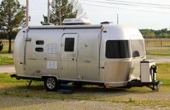 Rétro camping-car de courant d'air Photographie stock
