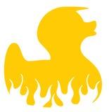 Rétro canard frais illustration de vecteur