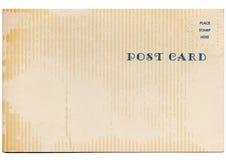 Rétro carte postale de vintage Images stock