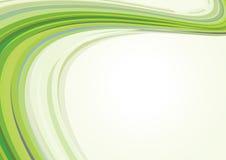 Rétro carte verte Photos libres de droits