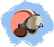Rétro casque Image stock