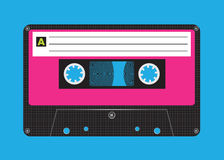 Rétro cassette illustration libre de droits