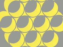 Rétro cercles abstraits Image libre de droits