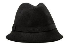 Rétro chapeau de feutre femelle dénommé Photographie stock