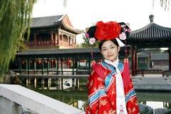 rétro chinois de beauté Photo libre de droits