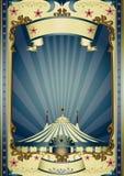 Rétro cirque de divertissement illustration stock