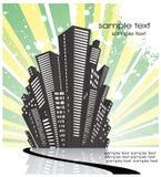Rétro city1 Image libre de droits
