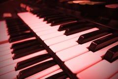 Rétro clavier d'organe image stock