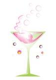 Rétro cocktail Image libre de droits