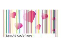Rétro code barres illustration de vecteur