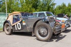 Rétro comité technique de MG de voiture 1948 ans Images stock