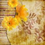 Rétro composition Image libre de droits