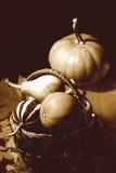 Rétro composition en thanksgiving Image stock