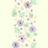 Rétro concept de fond de fleur Vecteur Images stock