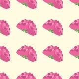 Rétro concept de fond de fleur Vecteur Images libres de droits
