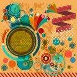 Rétro conception de Patry Images libres de droits