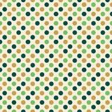 Rétro conception de point de polka Images stock