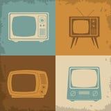 Rétro conception de télévision Images libres de droits