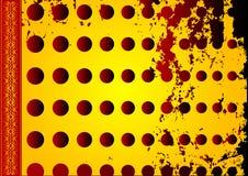 Rétro conception grunge Image stock