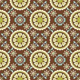 Rétro configuration florale SANS JOINT Images stock