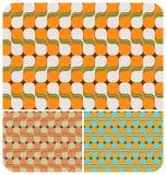 Rétro configuration psychédélique ~2 Illustration Stock