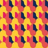 Rétro configuration sans joint abstraite illustration stock