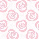 Rétro configuration sans joint florale Images libres de droits