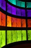 Rétro couleurs abstraites Images stock