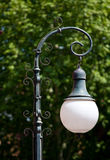 Rétro courrier de lampe/lanterne de rue Image libre de droits