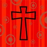 Rétro croix géniale illustration de vecteur
