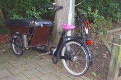 Rétro cycle de transporteur Photos stock
