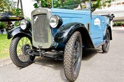 Rétro défilé 2011 de véhicule de cru d'affichage Images stock