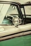 Rétro détail dénommé d'une voiture de vintage Photographie stock