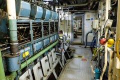 Rétro diesel de moteur de vaisseau spatial Photographie stock