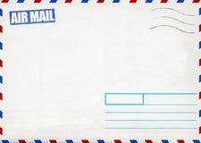 Rétro enveloppe de poteau de la poste aérienne photo libre de droits