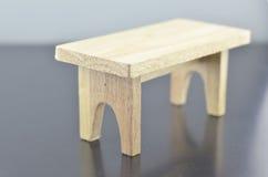 Rétro et douce image de regard de table en bois Photos stock