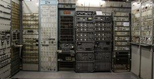 Rétro exposition de la guerre froide Photos libres de droits