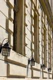 Rétro façade Image libre de droits