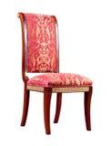 Rétro fauteuil de type d'isolement Photographie stock
