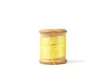 rétro fil en bois de bobine Photo libre de droits