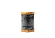 rétro fil en bois de bobine Photos stock