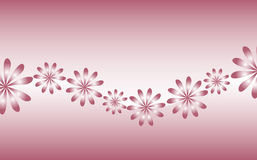 Rétro fleurs illustration de vecteur