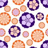Rétro fleurs Photographie stock