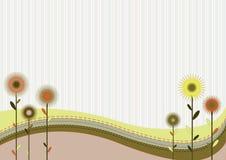 Rétro fond abstrait Illustration Libre de Droits