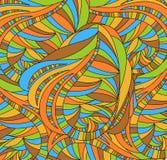 Rétro fond avec l'abstraction Image libre de droits