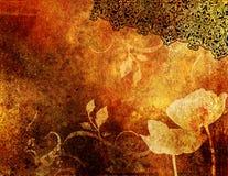 Rétro fond décoratif Images stock