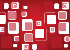 Rétro fond de cube Photos stock
