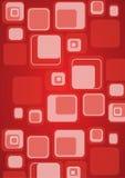 Rétro fond de cube Photo libre de droits